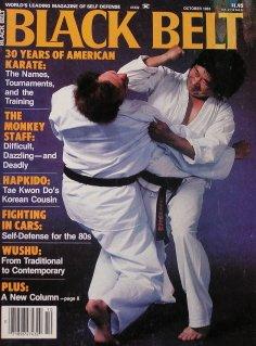 - October 1983 Black Belt Magazine Ben Otake Cover