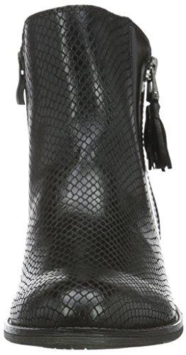 Ant Marco 25305 Negro black Para 096 Tozzi Mujer Botines comb BnOqU0B4