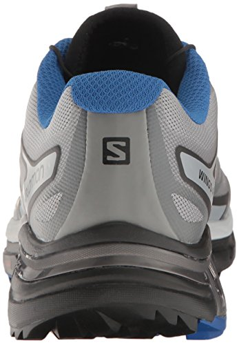 Salomon Herren Wings Pro 2 Traillaufschuhe, Grau, 49.3 EU Grau (Monument/Black/Nautical Blue)