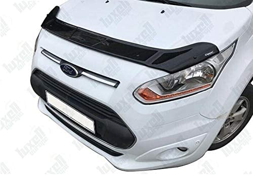 TRANSIT//TOURNEO CONNECT Bonnet Hood Wind Stone Deflector Protector Guard 2014 Onwards