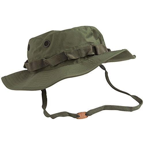 Mil-Tec Trilam. Boonie Hat (63cm (XX-Large), Olive Drab) Boonie Hat Nylon Hat