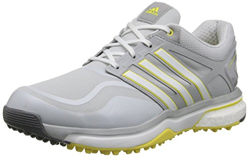 adidas Golf Women's Adipower Sport Boost, Clear Grey/Running White/Light Yellow, 5 B-Medium