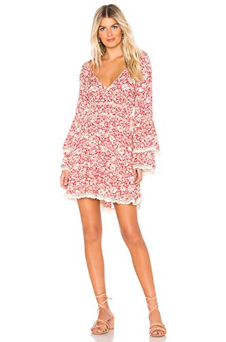 Free People Kristall Mini Dress Raspberry LG (Women's 12-14)