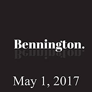 Bennington, May 1, 2017 Radio/TV Program