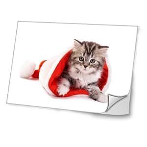 Navidad 10011, Diseño Mejor Pegatina de Vinilo Protector con Efecto Cuero Extraíble Adhesivo Sticker Skin Decal Decorativa Tapa con Diseño Colorido para Portátil 13.3''.