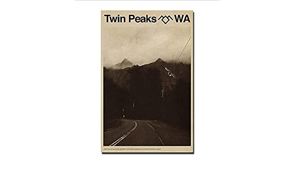 yhnjikl Twin Peaks Classic TV Series Show Hot Season Movie ...