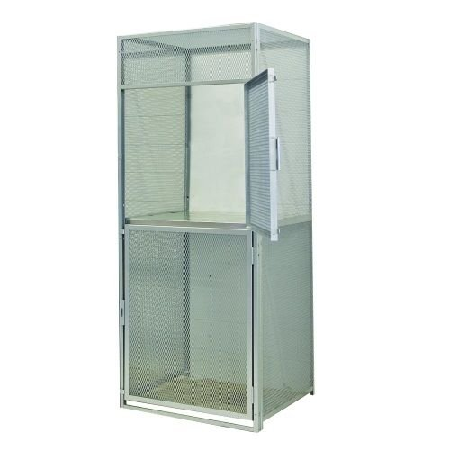 Hallowell Lockers Tenant Storage Ventilated Cages, Double Tier Starter (36