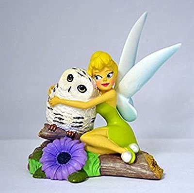 The Bradford Exchange Disney Tinkerbell I'll Owlways Be By Your Side Figurine By The Hamilton Collection