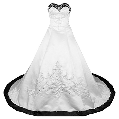 rohmbridal-sweetheart-a-line-wedding-dress-bridal-gown-size-0-ivory-black