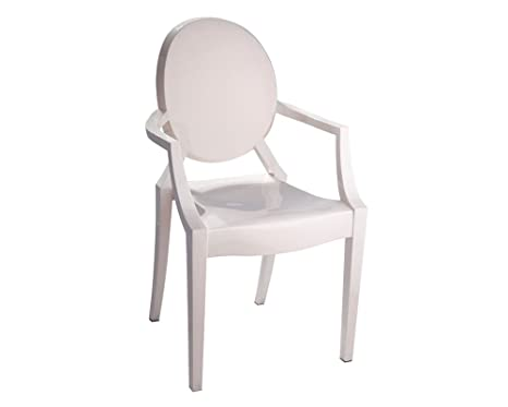 Marvelous Mod Made Louie Arm Chair Ivory Ibusinesslaw Wood Chair Design Ideas Ibusinesslaworg