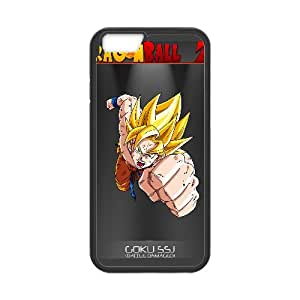 Goku Dragon Ball Z Anime iPhone 6 4.7 Inch Cell Phone Case Black DAVID-142439