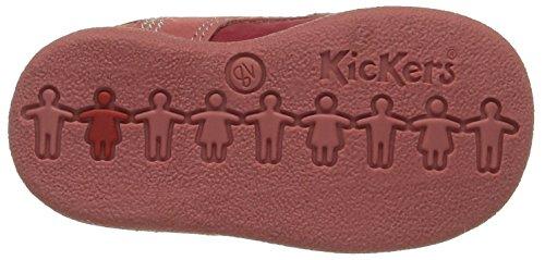 KickersBabystan - Primeros pasos Bebé-Niños Rojo - Rouge (Rouge/Rose)