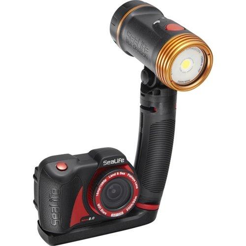 SeaLife Micro 2.0 Pro 1500 Set, Includes 32GB Underwater Wi-Fi Digital Camera, Sea Dragon 1500 Lumen Light, Sea Dragon Case, Flex-Connect Micro Tray and Grip
