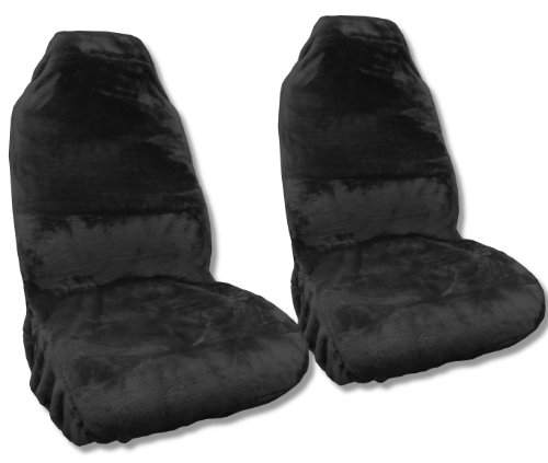 compare price pink faux fur seat covers on. Black Bedroom Furniture Sets. Home Design Ideas