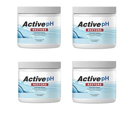 Active pH Restore Alkalizing Powder | pH Balance Supplement 250g (4)