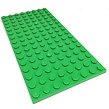 """Lego Parts: Creator Building Plate """"8 x 16 Studs"""" (Service Pack 92438 - Bright Green)"""