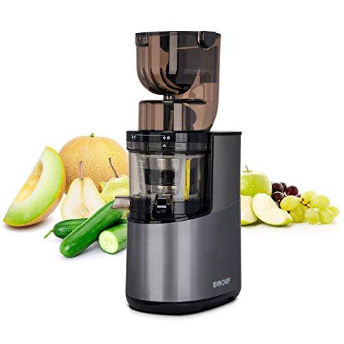 Bio Chef Atlas Whole Slow Juicer Pro – Extractor de zumos, 350W, 40 RPM, Licuadora Prensado en Frío. Garantía de por…