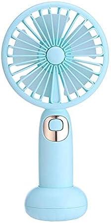 Niocaa USB Small Fan with Bluetooth Speaker Function Desktop Mini Fan Portable Rechargeable Fan Silent Operation