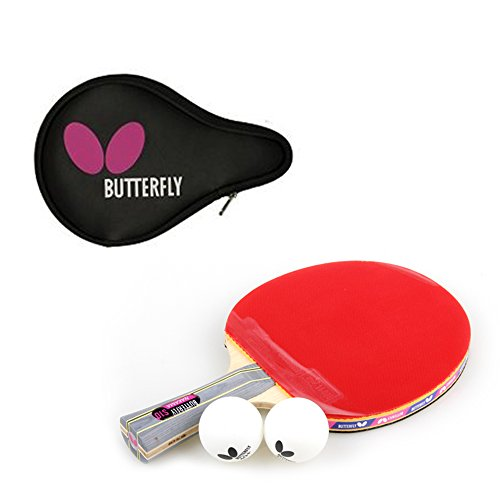 Butterfly NAKAMA S-10 Table Tennis Racket Paddle (Shake) + Logo Full case