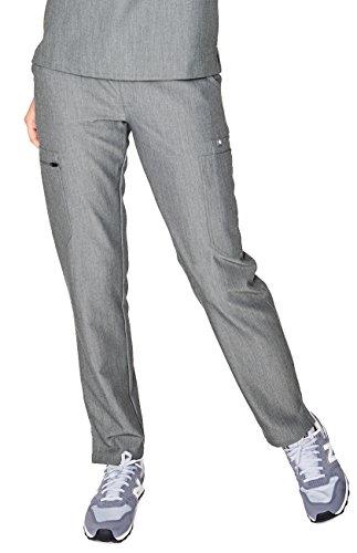 - FIGS Medical Scrubs Women's YOLA Skinny Pants (Graphite, XL)