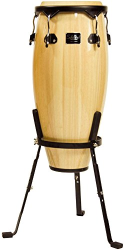 Schalloch Linea 50 Conga With Stand Black Hardware Natural 11 In. Conga