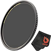 105mm X4 UV Filter For Camera Lenses - UV Protection Photography Filter with Lens Cloth - MRC16, SCHOTT B270, Nano Coatings, Ultra-Slim, Weather-Sealed by Breakthrough Photography
