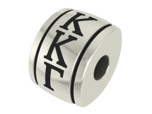Kappa Kappa Gamma Barrel Sorority Bead Fits Most European Style Charm Bracelets