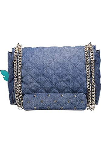 Femme Bandoulière Blu Jeans Ed668521 Denim Guess fqEwt8