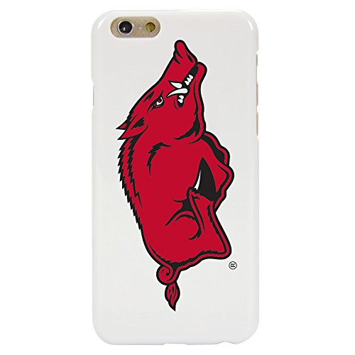 Arkansas Razorbacks Case for iPhone 6 / 6s - White (White Razor Case Phone Cell)