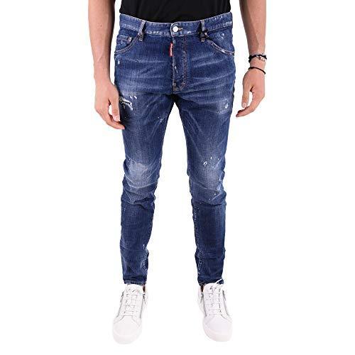 Dsquared2 Jeans Blu Cotone Uomo S71lb0497s30342470 qwfSTOZq