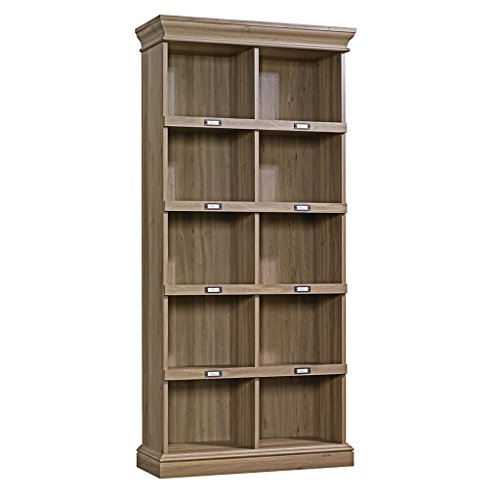 Sauder Barrister Lane Tall Bookcase Salt Oak by Sauder