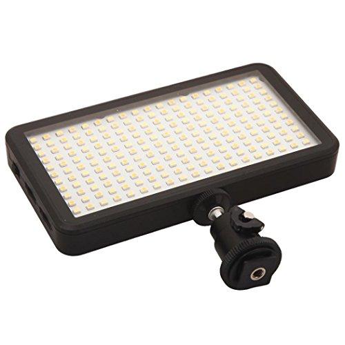 POTO LED Video Light Lamp Panel Dimmable 2000LM for DSLR Camera DV Camcorder N5V1 (Led Video Light Lamp Panel compare prices)