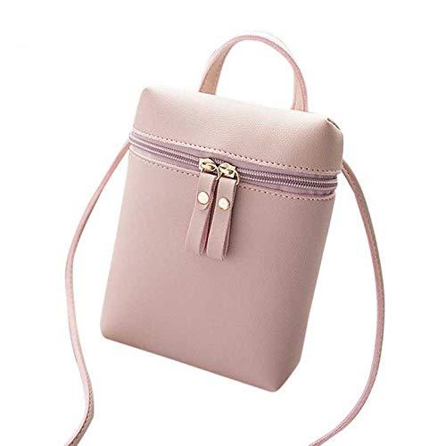 Bolso Bolso con Limotai PU para Mensajero Cremallera De para Messenger Handbag Mujer Mujer Bolso Mujeres Re UgnqB5q4w