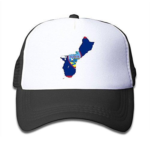 Top DNUPUP Kid's Guam Flag Map Adjustable Casual Cool Baseball Cap Mesh Hat Trucker Caps supplier