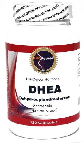La déhydroépiandrostérone DHEA 100mg 120 Capsules