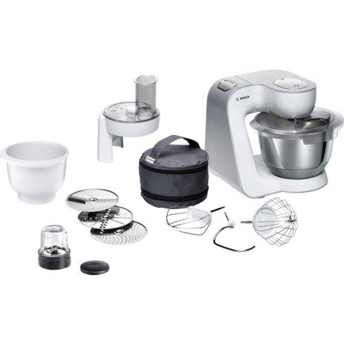 Bosch MUM58235 1000W 3.9L Blanco - Robot de cocina (3,9 L, Blanco ...