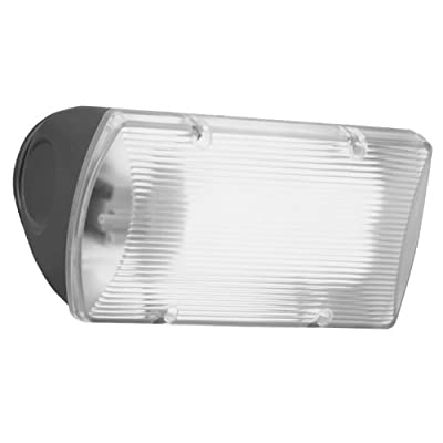 All Pro Outdoor Security FNF26PC 26-Watt Fluorescent Floodlight with Integral Photo Control, Bronze