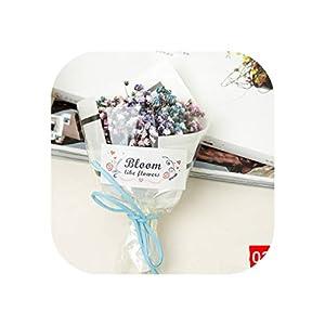 Dried Flowers Gypsophila Mini Bouquet H15Cm Natural Decorative Flowers for Home Wedding Party Decoration,02 3