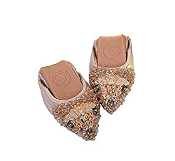Women's Rhinestone Slip On Ballet Shoes
