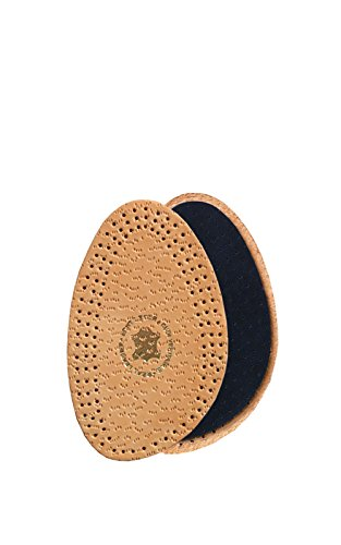 Kaps Halfix Half Insoles - Comfortable Premium Tan Leather & Latex (L8-9 US)