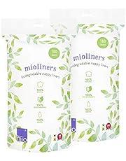 Bambino Mio, diaper liners, 2 pack