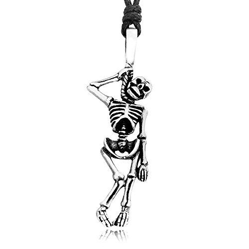 Dans Jewelers Suicidal Skeleton Necklace product image