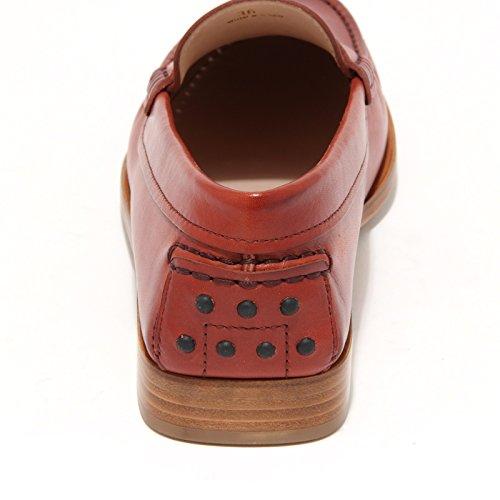Tod's Rosso Shoes 7918l Loafers Women Donna Mocassini Cuoio Scarpe EwgF8q