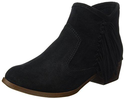 Minnetonka Damen Blake Boot Cowboystiefel Schwarz (zwart)