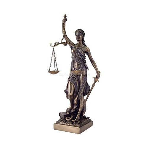 Lawyer Statue Attorney For Law Office Themis Figurine