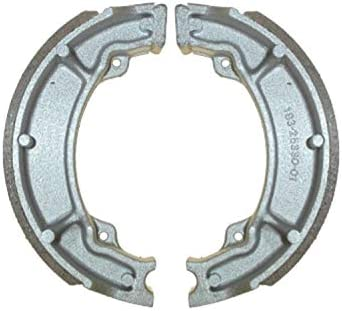 Yamaha RD 125 LC Mk 1 10W Std and kyoto Brake Shoes Rear 1982-1985