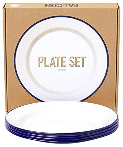 Falcon Enamelware Plate Set (Falcon Enamelware)