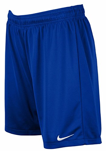 Nike Womens Equalizer Soccer Shorts (Medium, Royal)