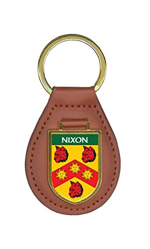 Nixon Family Crest Coat of Arms Key Chains