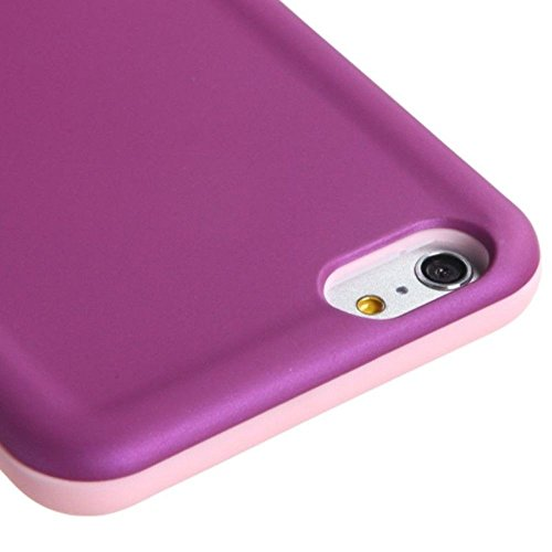 MYBAT Asmyna Advanced Armor Coque de protection pour iPhone 6 Plus – Emballage – Rose/violet